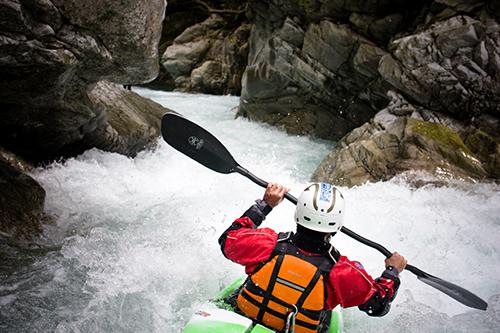 Encadrant de Kayak