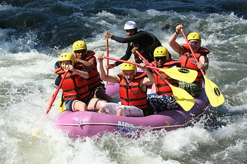 Encadrant Rafting